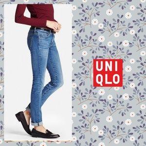 Uniqlo soft skinny jeans sz 28